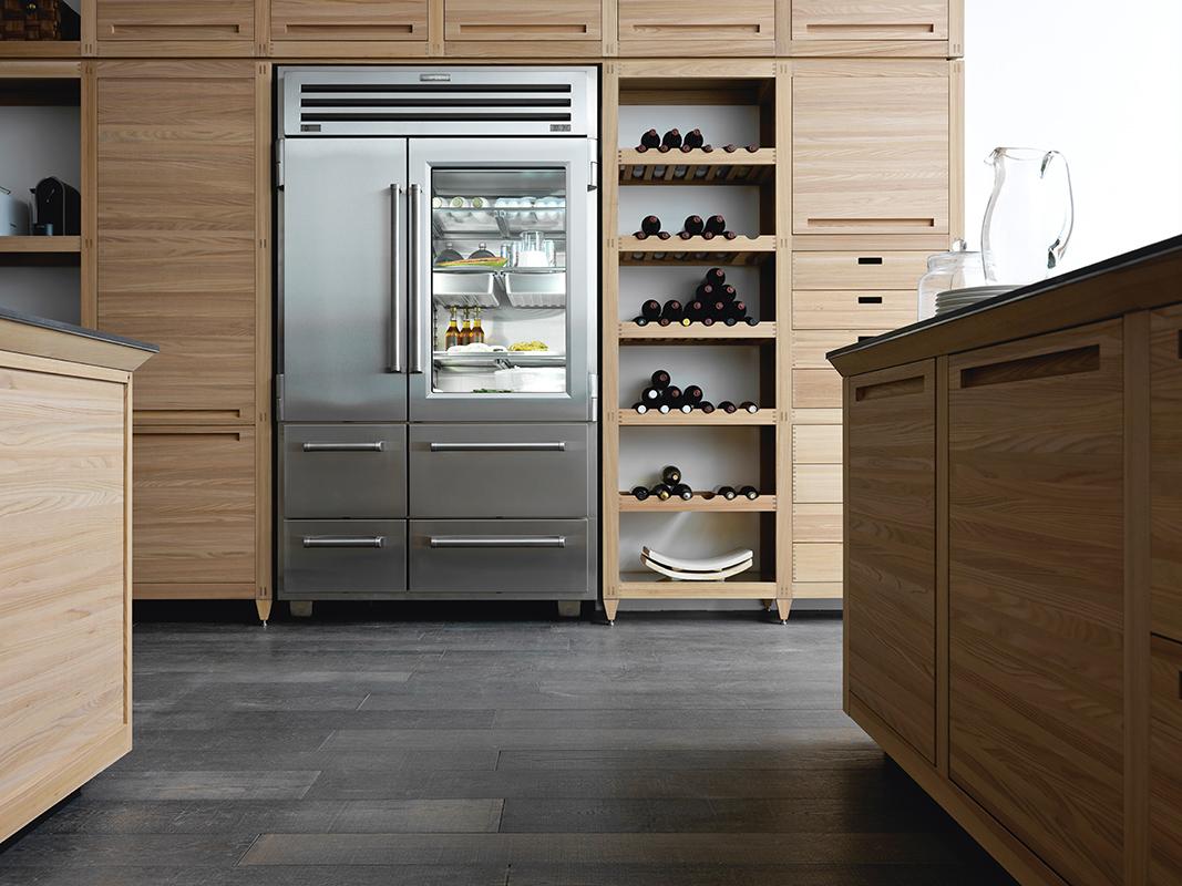 Sub Zero 48 Inch Built In Side By Side Refrigerator Agren